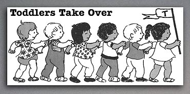 Toddlers Takeover illustration