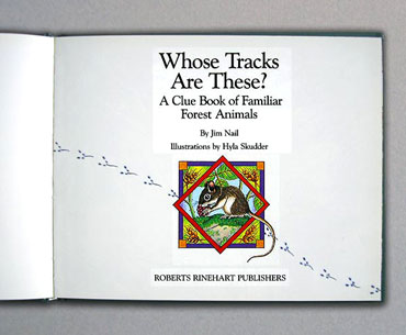 Whose Tracks Are These book title page