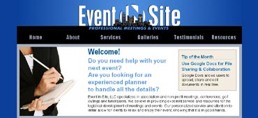 Event In Site web banner