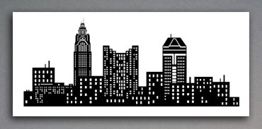 Vector Illustration of Columbus, OH skyline
