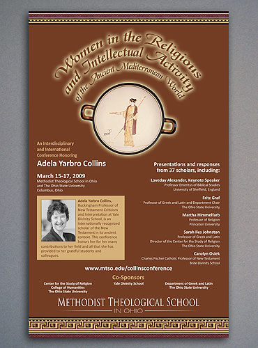 Women in Ancient Religion seminar poster.