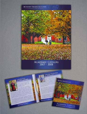 Methodist Theological School in Ohio catalog and DVD