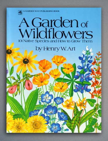 A Garden of Wildflowers - book cover.