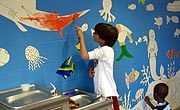 Thumbnail - Robert Frost Under the Sea mural